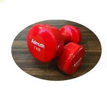 دمبل آذیموس  Dumbbell  7 kg model 091